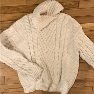 Zara open turtle neck sweater
